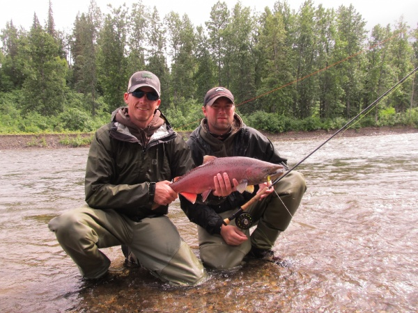 Fly-fishing Photoof King salmon shared by Michael Tyrna – Fly dreamers