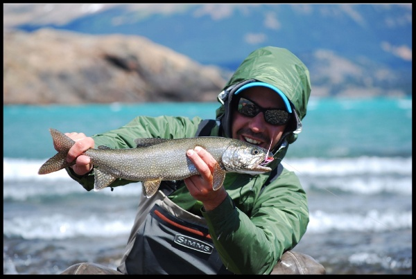 Matias Curuchet 's Fly-fishing Photo of a Lake trout – Fly dreamers