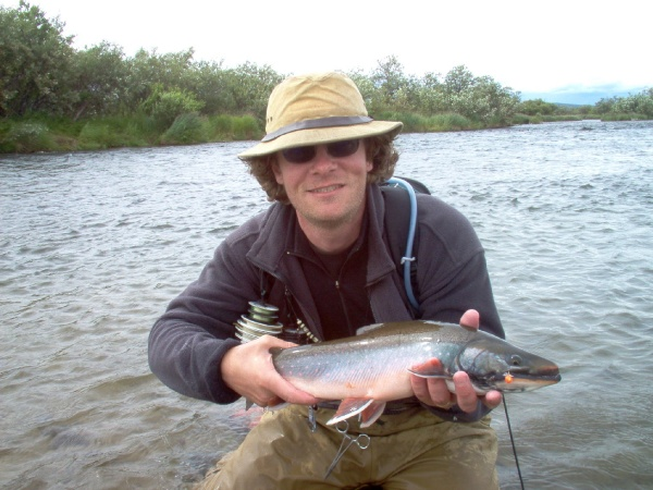 Jim Speaker 's Fly-fishing Photo of a Dolly Varden – Fly dreamers