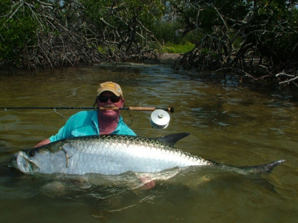 Scott Smith 's Fly-fishing Pictureof a Tarpon– Fly dreamers