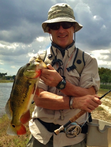 Fly-fishing Pic of Peacock Bass shared by John Kelly – Fly dreamers