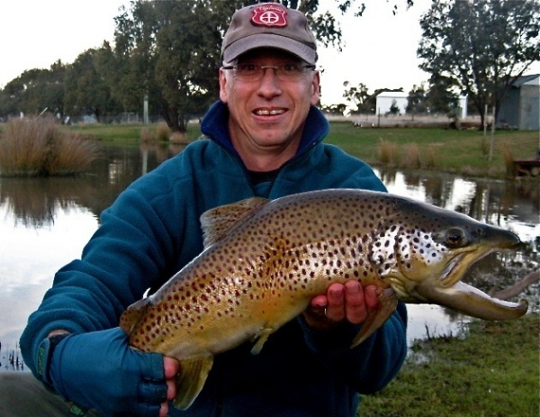 Fly-fishing Picture of Brown trout shared by Brett Smith – Fly dreamers