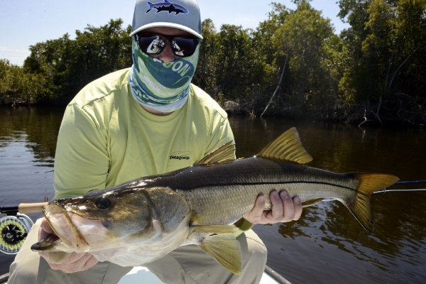 Bill Katzenberger 's Fly-fishing Photo of a Snook - Robalo – Fly dreamers