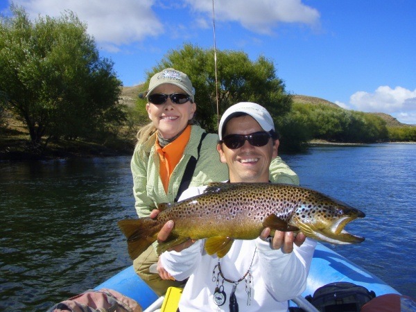 Fly-fishing Picture of Brown trout shared by Edie Lewis – Fly dreamers