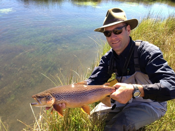Fly-fishing Pictureof Brown trout shared by Javier Rivara – Fly dreamers