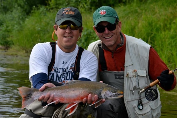 Fly-fishing Image of Arctic Char shared by Mack Schoen – Fly dreamers