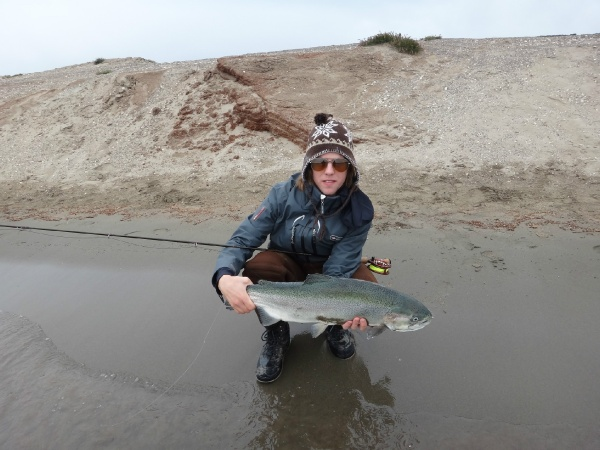 Nicolas Salgueiro 's Fly-fishing Pictureof a Lake trout– Fly dreamers