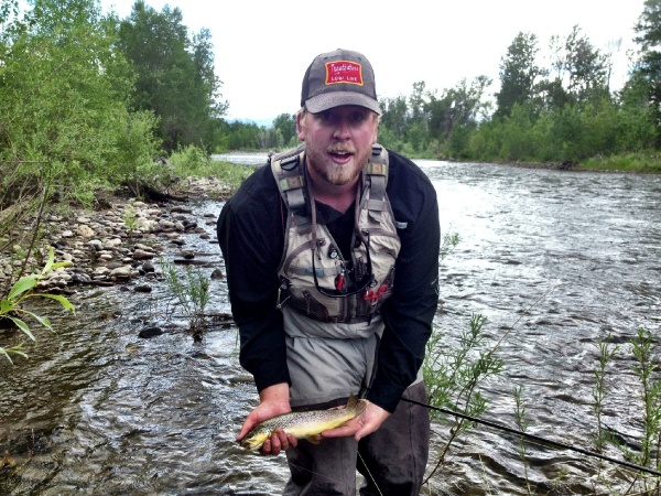 Craig Condon 's Fly-fishing Photo of a Brown trout – Fly dreamers