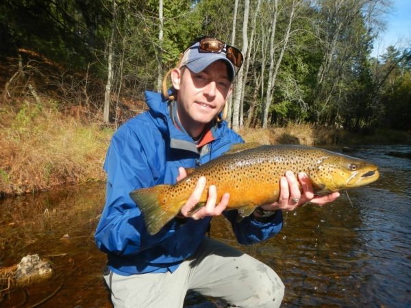 Ryan Brown 's Fly-fishing Photoof a Brown trout– Fly dreamers