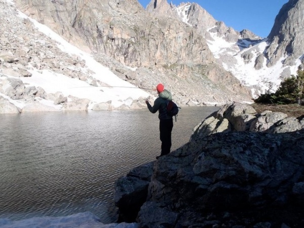 Fly-fishing Photoof lake char shared by William Feldman – Fly dreamers