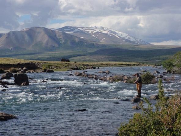 rio Nahueve, Neuquen, Argentina