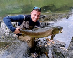 Flyfishing in Slovenia- a great adventure