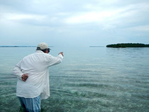 By Carlos Cortez.. When you meet Charlie Leslie, the owner and Head Guide at Tarpon Caye Lodge, you immediately feel contention, he gives you peace of mind. From that moment on, he starts sharing -in a simple way- the enormous knowledge he has about ...