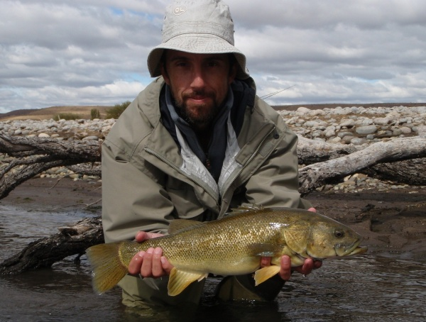 Fly-fishing Pic of <strong>Patagonia</strong> Bass shared by Franco Rossi – Fly dreamers