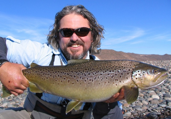 <strong>Chip</strong> Drozenski 's Fly-fishing Pictureof a Brown trout– Fly dreamers
