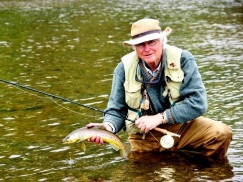 By Patricio Mac Allister.. Dave Hughes is one of the big names in fly fishing. He is the author of more than 20 books about fly fishing for trout, hasbeen a contributing editor to Field & Stream, written for Gray's Sporting Journal, and for eigh...