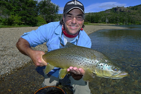 Fly-fishing Photo of Brown trout shared by <strong>Chip</strong> Drozenski – Fly dreamers