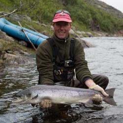 Summer Salmon on the Kola Peninsula