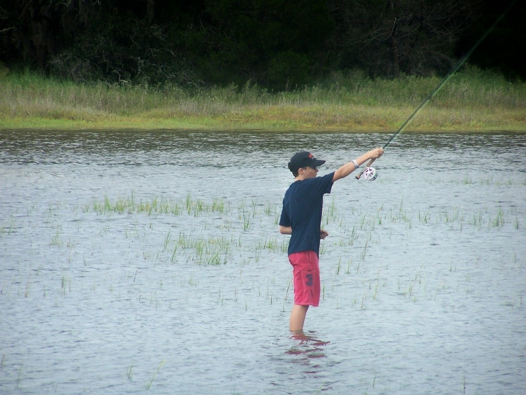 Capt lawrence piper fly dreamers directory for Fly fishing casting