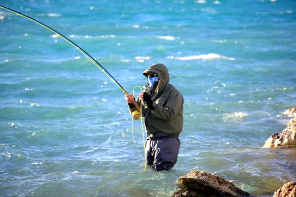 Fly-fishing Situation of Rainbow trout - Photo shared by Reggie White from <strong>Lago</strong> Strobel – Fly dreamers