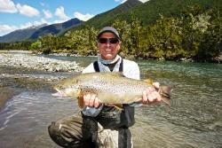 Tasman Region, Murchison, Owen River Lodge, Nueva Zelanda
