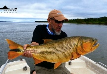 Pablo Saracco 's Fly-fishing Photoof a Golden <strong>Dorado</strong>– Fly dreamers
