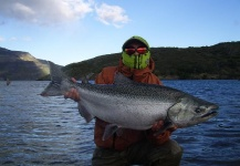 Fly-fishing Image of Spring Salmon shared by Pristine Waters <strong>Patagonia</strong> – Fly dreamers