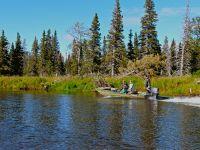 Jet boating a remote Alaskan river