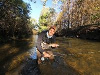 My first Australian Trout, although the photo is a little blurry (sorry about that) I wanted to share it with you.