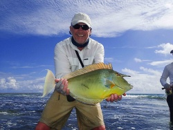 Alphonse Island Fishing News: 23 – 29 November 2014 _ Week Starts With 2 Permit And A Grand Slam