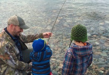 Grayling Fly-fishing Situation – Branden Hummel shared this Sweet Image in Fly dreamers