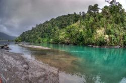 Río Petrohue, Puerto Varas, Región de los Lagos, Chile