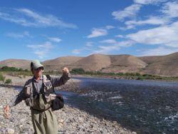 Rio Caleufu, San Martín de los Andes, Neuquen, Argentina