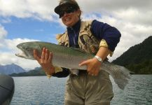 Yelcho En La <strong>Patagonia</strong> 's Fly-fishing Photo of a Rainbow trout – Fly dreamers