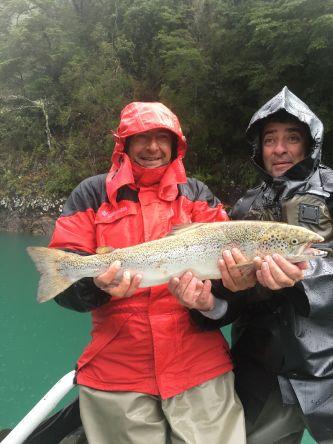 Atlantic salmon, Puelo River #matapiojoanglers