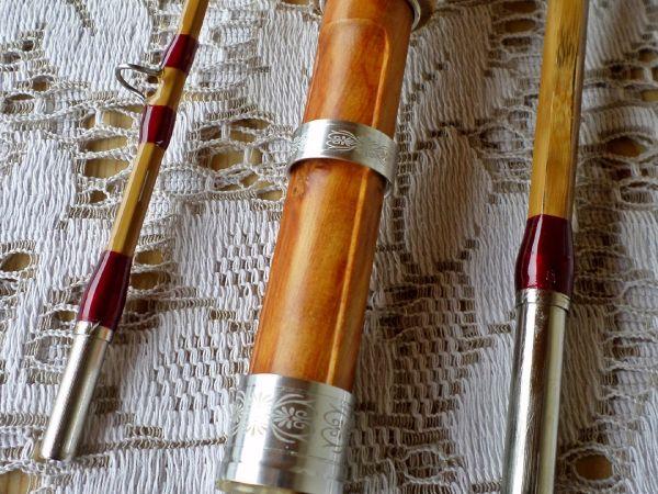Cañas Artesanales de Bambú