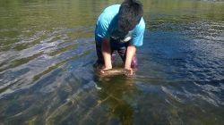 Pescando en Alumine