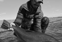 Marcos Hlace 's Fly-fishing Picof a Sea-Trout– Fly dreamers