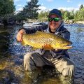 One of my most memorable brown trout in size, fight and beauty. You Will be able to see everything in Where The Big Fish Rises III Sweden!!