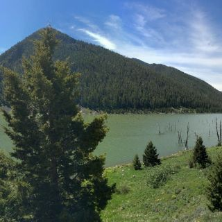 Earthquake Lake, Montana - Madison River