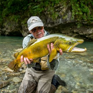 GFWW client Keith Burton-Wood in Slovenia