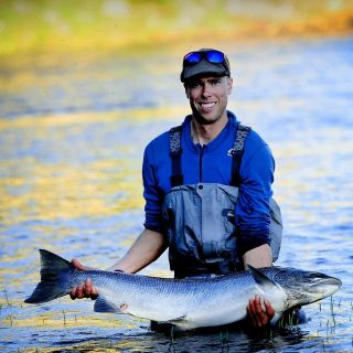Baltic Salmon fishing in Sweden