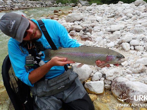"Soča ""emerald river""  ... Fly fishing in Slovenia"