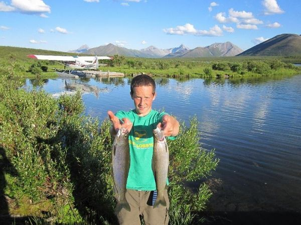 Fish the Yukon with Midnight Sun Outfitting