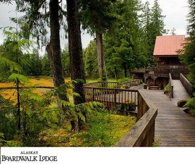 Alaska´s Boardwalk Lodge