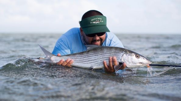 Above average stud bonefish in the wind...it's when the heavier ones come out to play.