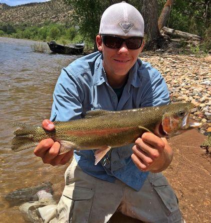 Floating runoff in Colorado
