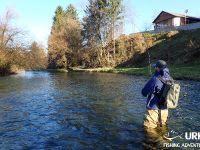 Ansel Orr - Fly Fishing - Krka - Urko Fishing Adventures - Slovenia