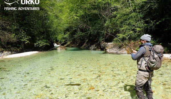 Koritnica River, Bovec, Goriška region, Slovenia