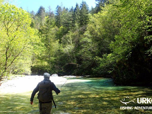 Koritnica River - Fly fishing in Slovenia